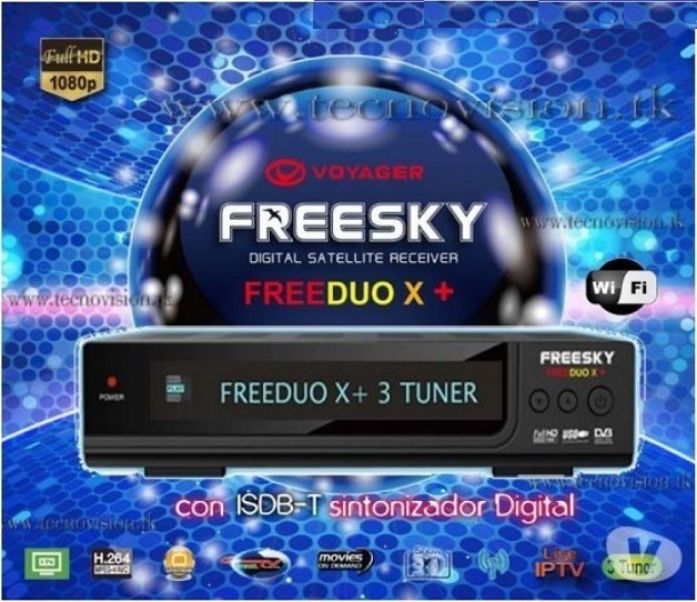 Receptor Freesky Duo X