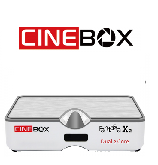 Receptor Cinebox Fantasia X2
