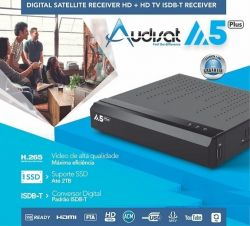 RECEPTOR AUDISAT A5 IPTV WIFI FULL HD