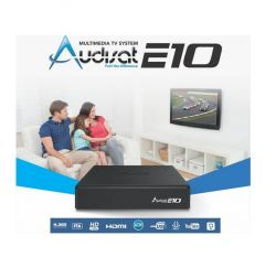 RECEPTOR AUDISAT E10 FULL HD ACM HD ON DEMAND