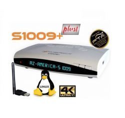 RECEPTOR AZAMERICA S1009 PLUS ACM 4K IPTV FULL HD 3D