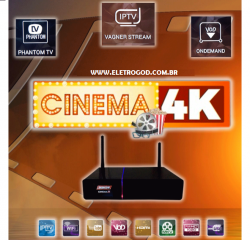 RECEPTOR PHANTOM CINEMA 4K IPTV VOD YOUTUBE