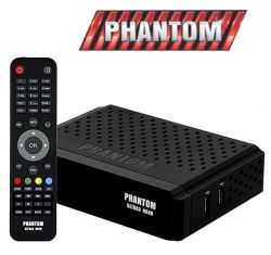 RECEPTOR PHANTOM ULTRA 3 FTA WIFI ACM ONDEMAND
