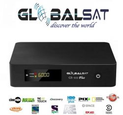 RECEPTOR GLOBALSAT Gs111 PLUS USB HDMI HD