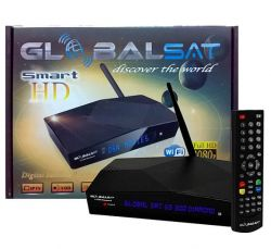 RECEPTOR GLOBALSAT GS300 DIAMOND SMART HD