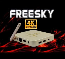 RECEPTOR FREESKY OTT STREAM 4K ON DEMAND IPTV