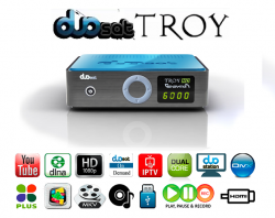 DUOSAT TROY GENERATION IPTV ON DEMAND DUAL CORE