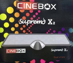 RECEPTOR CINEBOX SUPREMO X2 ON DEMAND ACM IPTV