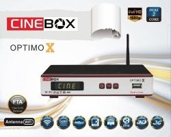 RECEPTOR CINEBOX OPTIMO X