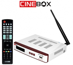 RECEPTOR CINEBOX OPTIMO X2 LANÇAMENTO ACM FULL HD