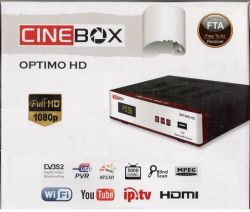 RECEPTOR CINEBOX OPTIMO HD IPTV SKY FULL HD