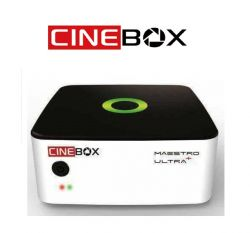 RECEPTOR CINEBOX MAESTRO ULTRA + ANDROID QUAD CORE WIFI