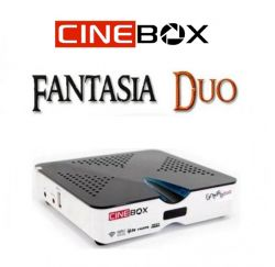 RECEPTOR CINEBOX FANTASIA DUO FULL HD IPTV