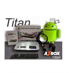 RECEPTOR AZBOX TITAN ANDROID 4.2 JELLY BEAN