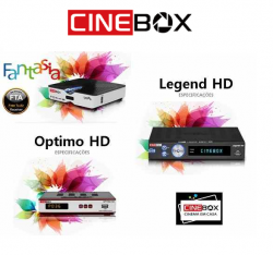 RECEPTOR CINEBOX FANTASIA FTA HD YOUTUBE IPTV HDMI
