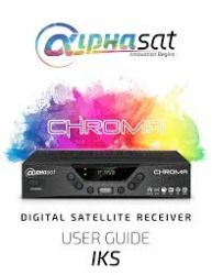 RECEPTOR ALPHASAT CHROMA WI-FI FULL HD