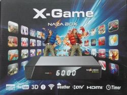 Receptor Nazabox Nz X Game HD Android Iptv